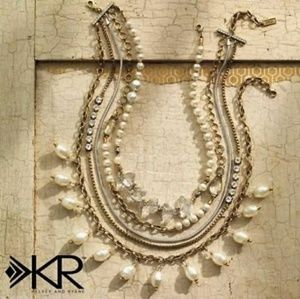 Silpada practical pearls necklace KR Edition